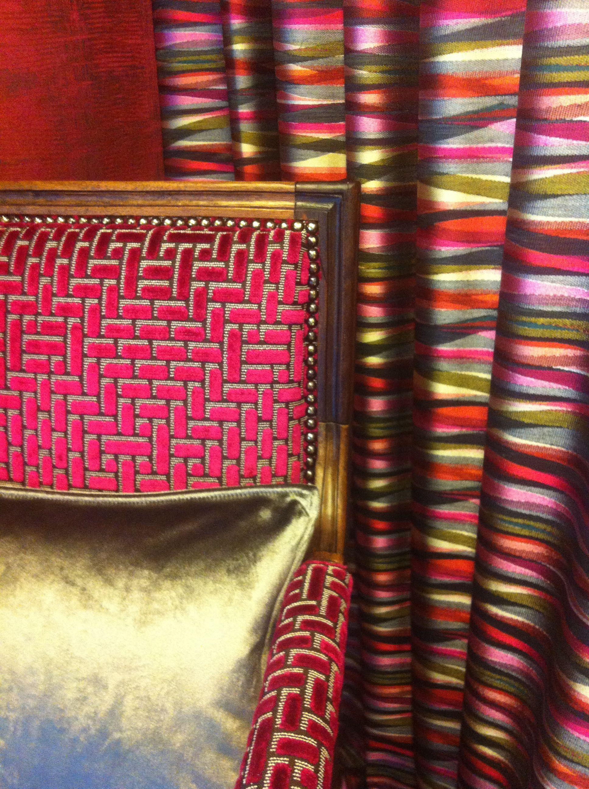 Un ancien fauteuil Louis XVI aux couleurs de Casamance